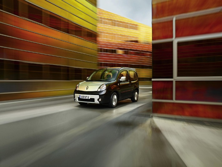 Renault präsentiert neuen Kangoo be bop - Kompakt und komfortabel