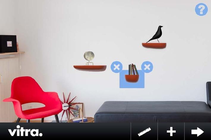 Wandverschönerung mit neuer Vitra-App