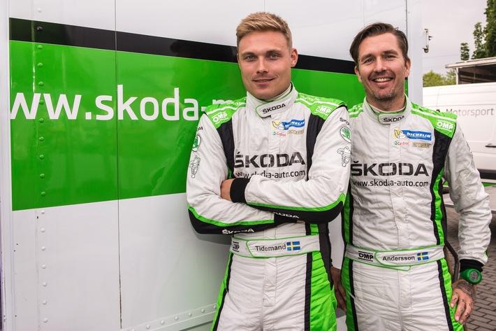Rallye Polen: Tidemand/Andersson wollen WRC 2-Siegesserie im SKODA FABIA R5 fortsetzen