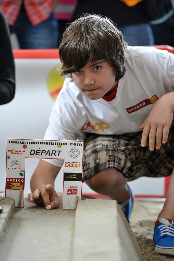 4. Schweizer Murmel-Meisterschaft: Frédéric de Goumoëns triumphierte
