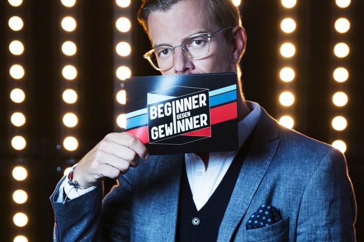 """Einladung zum Premieren-Screening der neuen ProSieben-Samstagabendshow """"Beginner gegen Gewinner"""" mit Joko Winterscheidt"""
