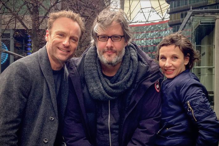 """Film im Film: Der rbb-""""Tatort: meta"""" mit Meret Becker und  Mark Waschke entsteht während der Berlinale"""