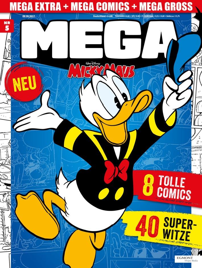 Egmont Ehapa Launcht Toy Story Magazin: Die MEGA Micky Maus: Das Magazin Der Superlative