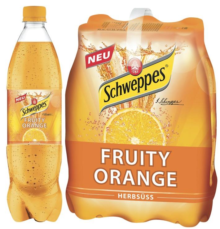 Fruity - Das andere Schweppes / Neue Sorte: Fruity Orange