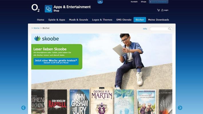 Leseratten aufgepasst - jetzt gratis testen: Die Skoobe e-Book Flatrate von o2