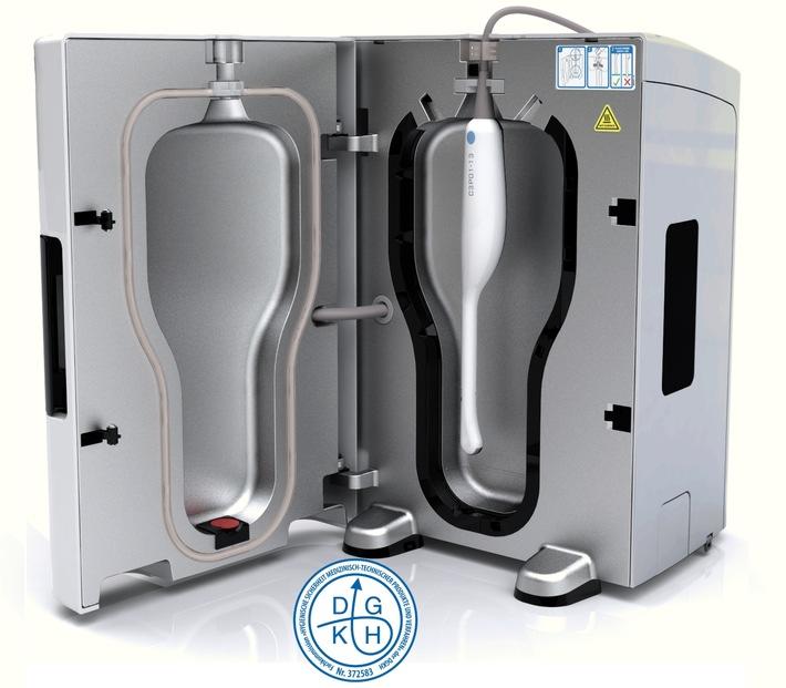 Ultraschallsonden hygienisch sicher aufbereiten / Deutsche Gesellschaft für Krankenhaushygiene verleiht Prüftestat an trophon® EPR