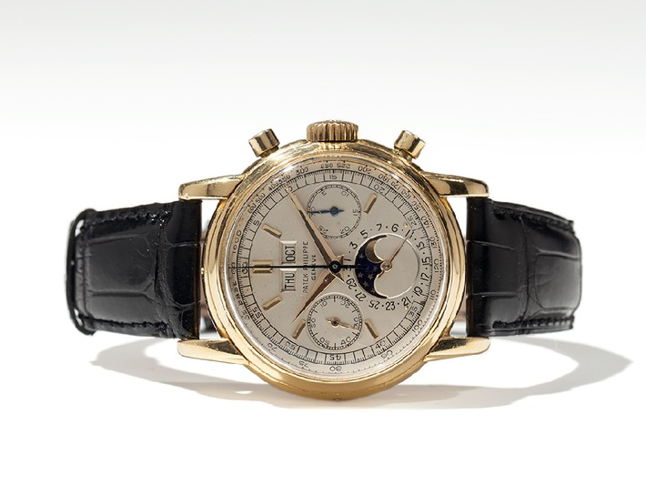 Weltrekord bei Auctionata: Patek Philippe Referenz 2499 für EUR 470.000 ist teuerste jemals online versteigerte Uhr