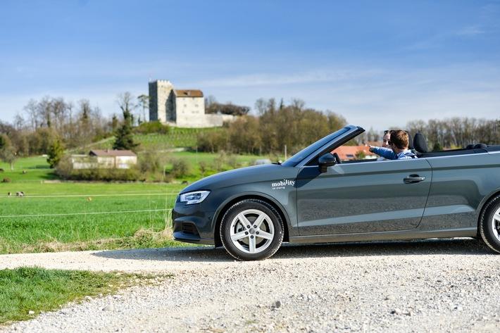 Mobility propose désormais des Audi Cabrio