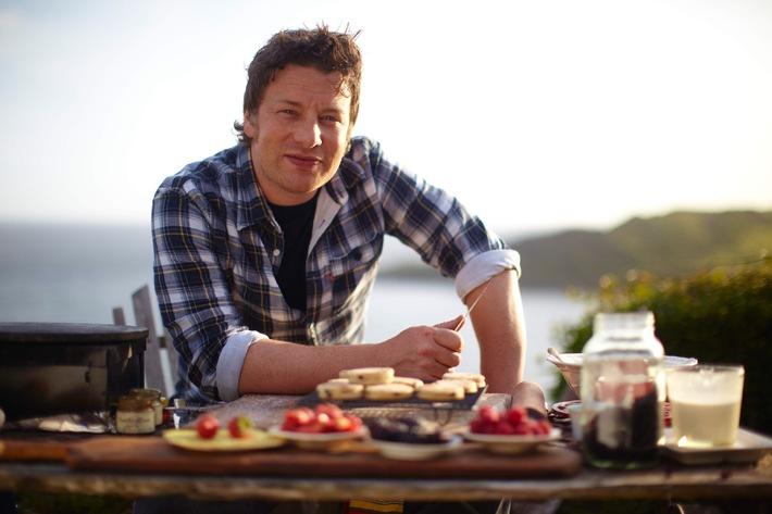 Jamie Oliver auf kulinarischer Tour durch Großbritannien