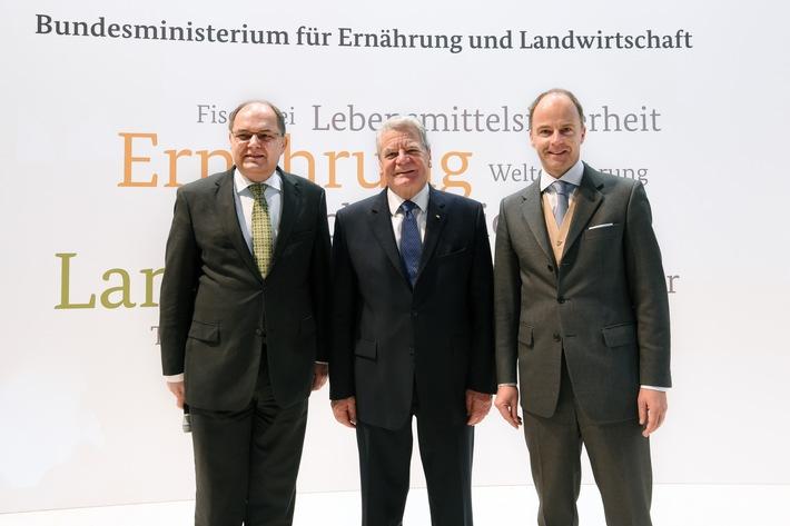 Grüne Woche 2016: Bundespräsident Gauck erstmals auf Grüner Woche