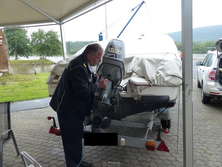 """WSPA-RP: """"Gravieren für mehr Sicherheit""""   Aktionstag der Wasserschutzpolizeistation Trier in Konz"""