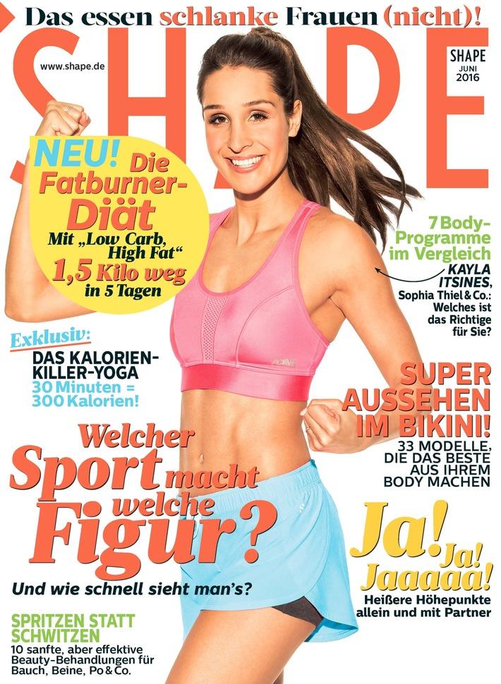 Jetzt in SHAPE: Fitnessprogramme im Vergleich - halten sie, was sie versprechen?