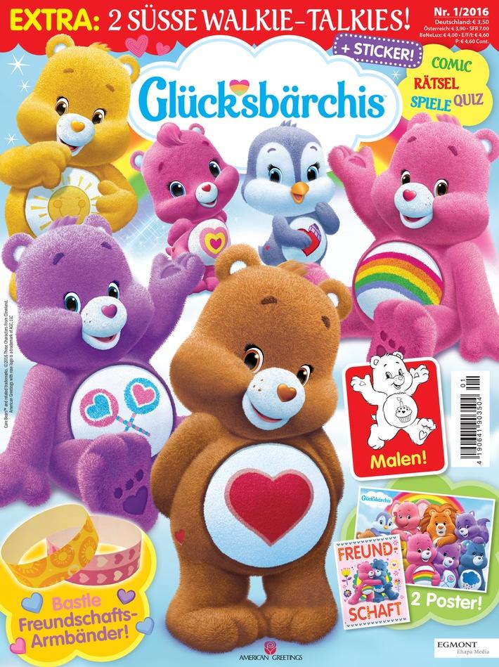 Neuerscheinung: Die Glücksbärchis hei�en Euch mit ihrem neuen Magazin Willkommen im Wolkenland!