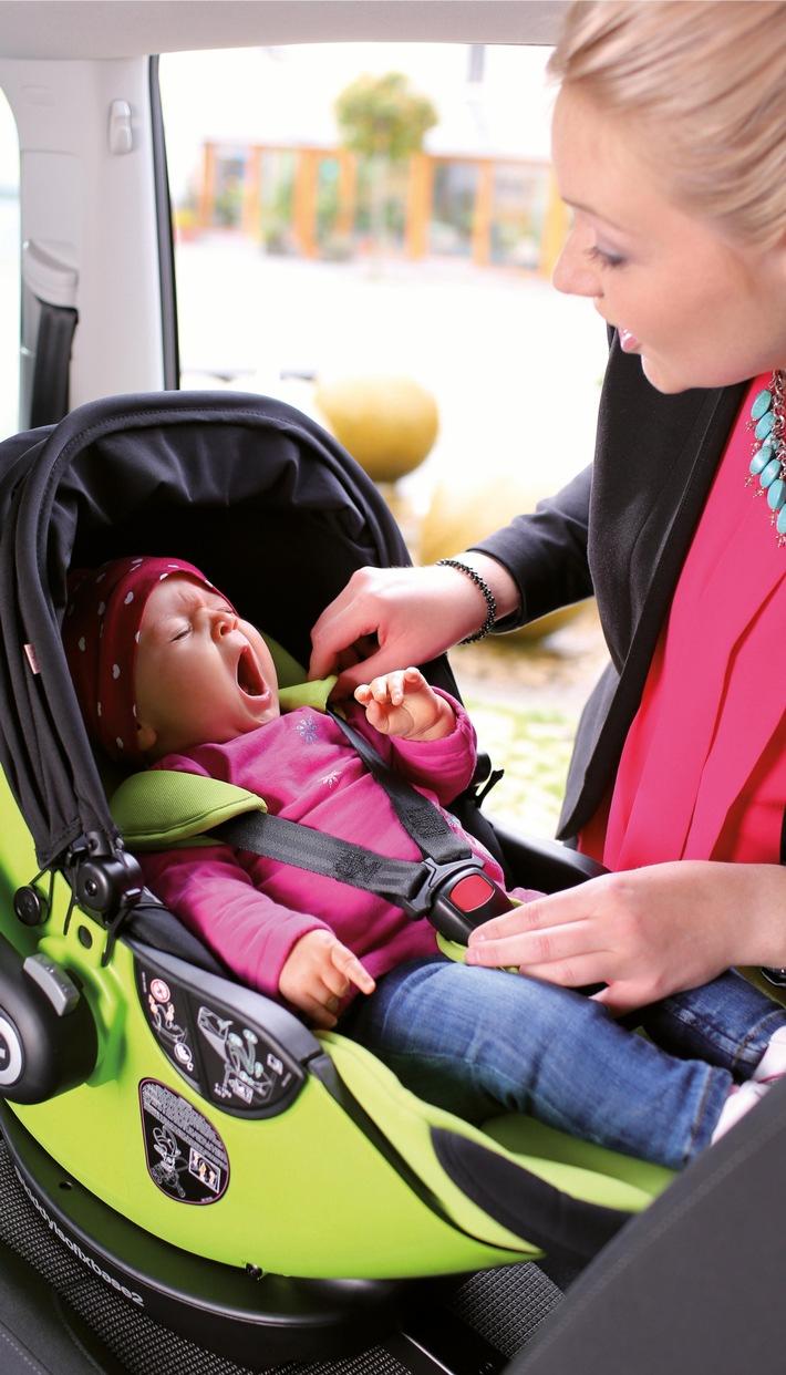 Komfort für Kind und Eltern - Rückengesundheit von Geburt an