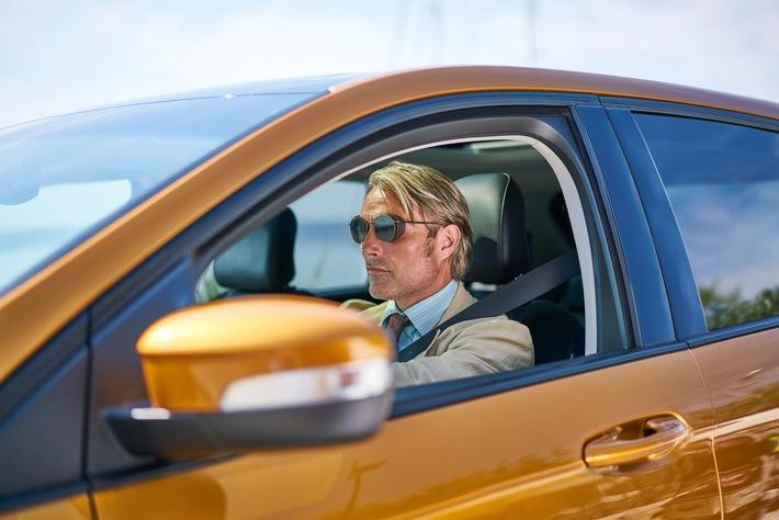 Mads Mikkelsen und der neue Ford Edge sind die Stars des Kurzfilms 'Le Fantôme'