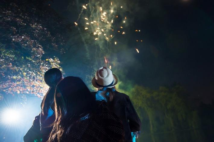 Silvesterfeuerwerk: Schön, laut - und gefährlich/ Leichtsinnige Anwendung verursacht schnell Schäden - die DVAG erklärt, welche Versicherung wichtig sind und gibt Tipps für eine sichere Neujahrsfeier