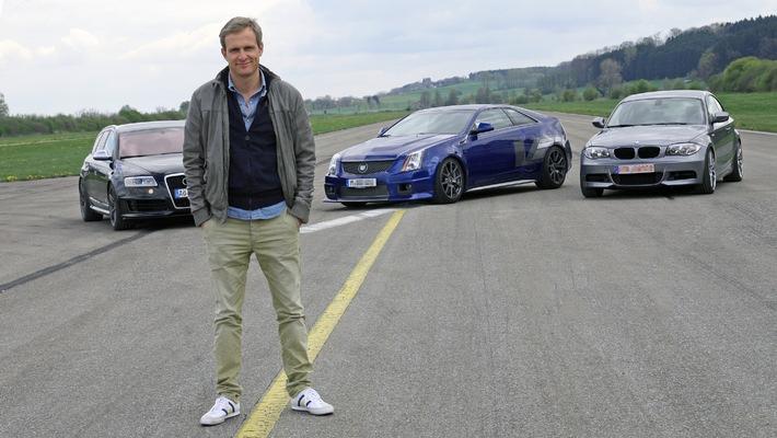 """""""GRIP - Das Motormagazin"""": Axel Stein testet den neuen Lamborghini Huracan / Wölfe im Schafspelz / Dets Top drei der Surfmobile / Sonntag, 18. Mai 2014, um 18:00 Uhr bei RTL II"""