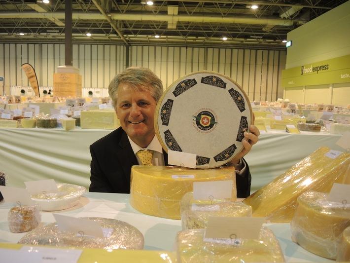 Nach dem Gewinn des Weltmeistertitels 2012 ist Affineur Walo erneut der erfolgreichste Teilnehmer am World Cheese Award (BILD)