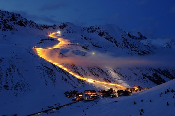 Winterstar 2011 - 3 Stunden Nachtrennen und Kombi Plus im Kühtai in Tirol