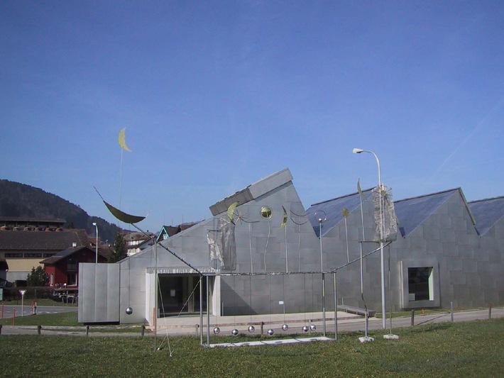 Monumentalplastik von Fausto Melotti in Appenzell