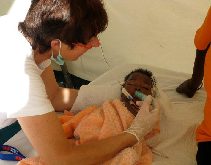 Hilfe für Cholerapatienten in Haiti / action medeor und nph deutschland kooperieren