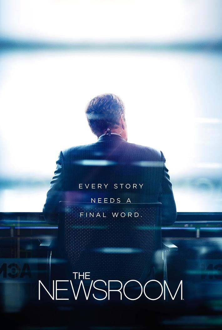 """Ein Nachrichtenmann zwischen persönlichen und beruflichen Herausforderungen: Die HBO-Dramaserie """"The Newsroom"""" exklusiv auf Sky"""