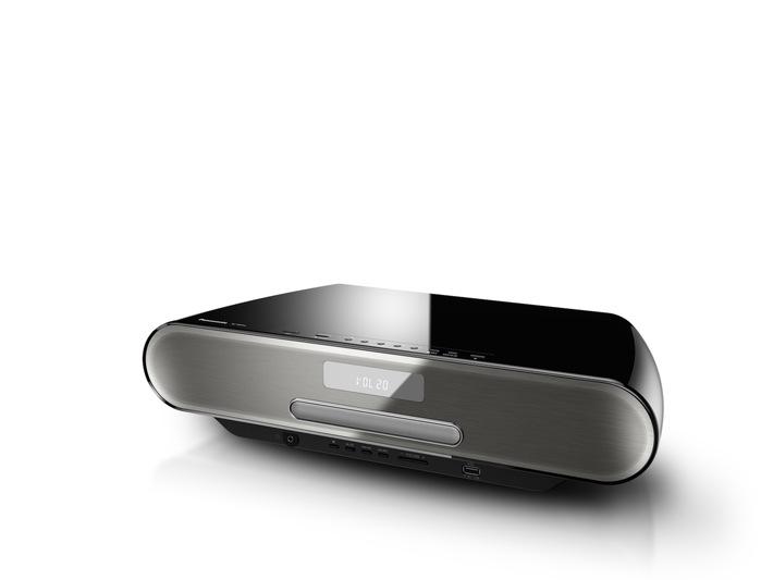 Panasonic präsentiert Micro HiFi Systeme mit neuem Design und neuen Möglichkeiten