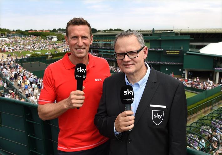 Spiel, Satz, Sieg: Sky sendet 350 Stunden live aus Wimbledon