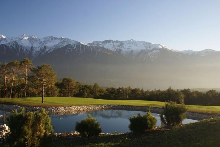 Startschuss für den längsten Sommer Tirols - Golfplatz Mieming bereits geöffnet