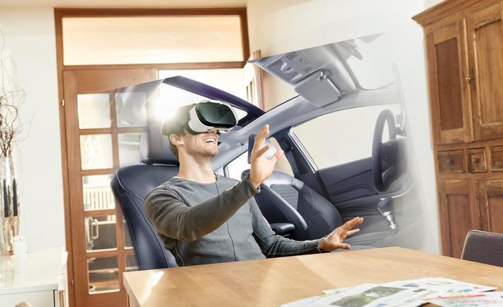 """Dank """"Virtual Reality"""" werden Testfahrten in einem Ford künftig vom Sofa aus möglich sein"""