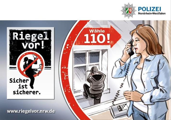 POL-REK: Nachbar vertrieb Diebe - Bergheim
