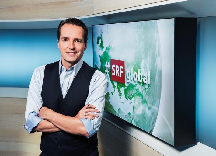 Publikumsrat SRG.D beobachtete das Auslandmagazin «#SRFglobal» und die transmediale Sendung «Experiment Schneuwly»