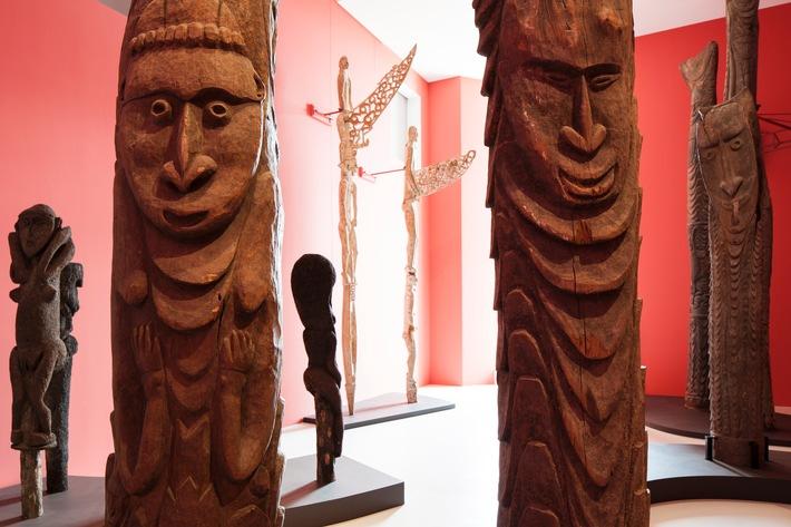 Le Museum der Kulturen Basel montre la vraie grandeur