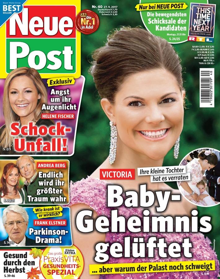 "Jetzt in ""Neue Post"": Frank Elstners Parkinson-Drama"