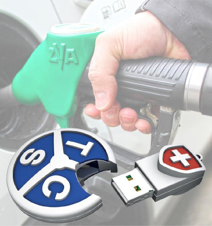 Ein Durchschnittsfahrzeug kostet 74 Rappen pro Kilometer: Schnelle und einfache Berechnung der Kilometerkosten dank dem TCS
