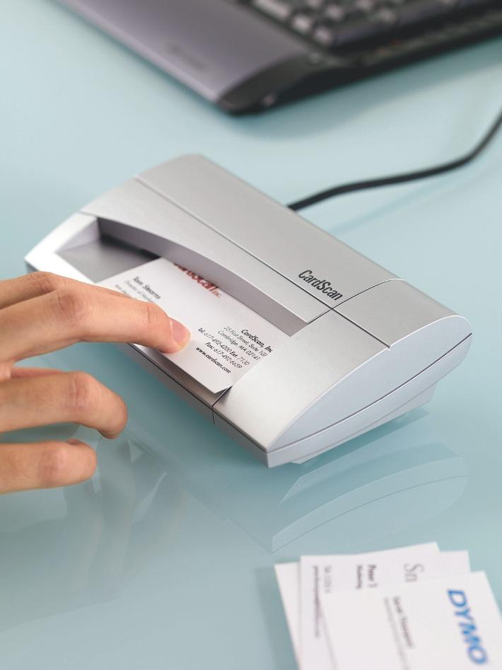 Visitenkartenscanner als edles Weihnachtsgeschenk