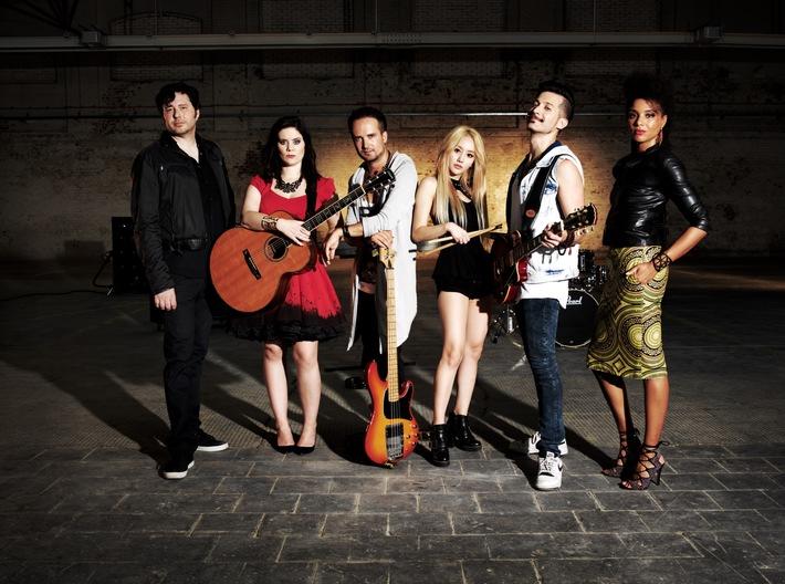 GLOBAL ROCKSTAR UNITED: Ein Song, der Kontinente verbindet - BILD