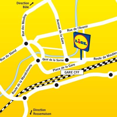 Delémont: Lidl Suisse ouvre sa 89ème filiale