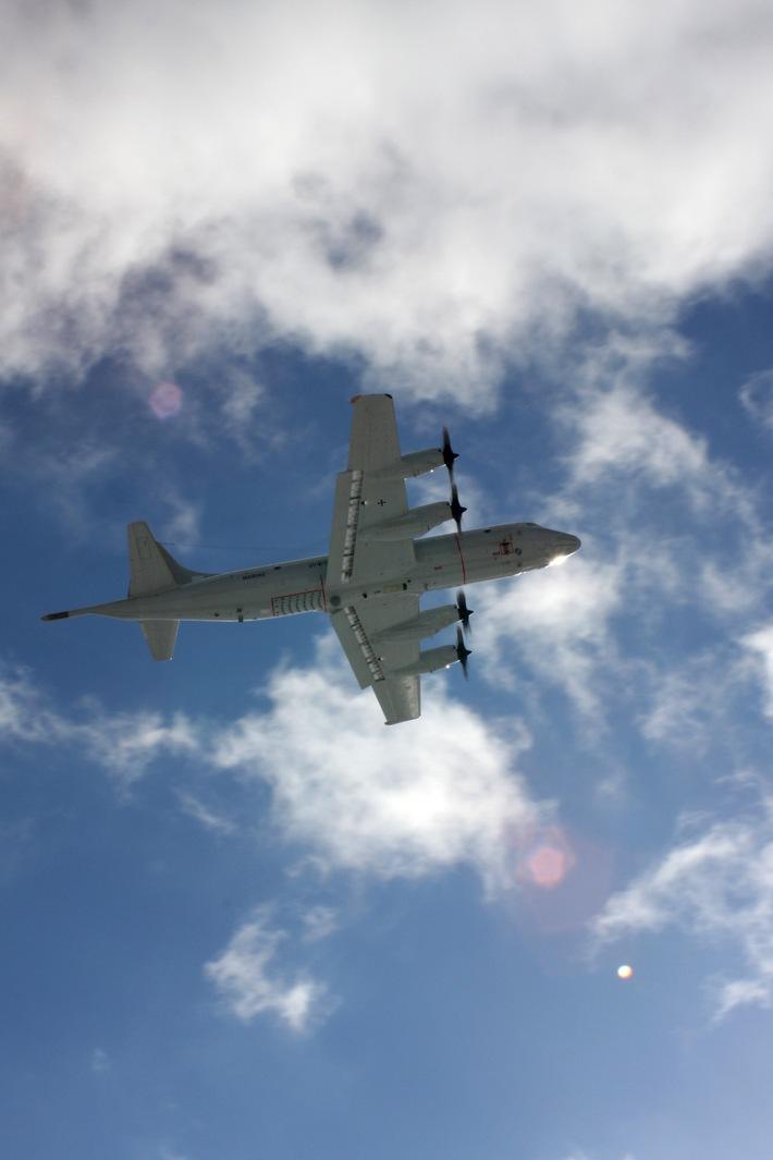 Marine - Pressemitteilung: Nordholzer Marineflieger erneut im Einsatz gegen Terrorismus