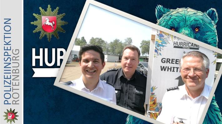 POL-ROW: ++ Informationen über Twitter - Festivalpolizei mit Social Media Team ++