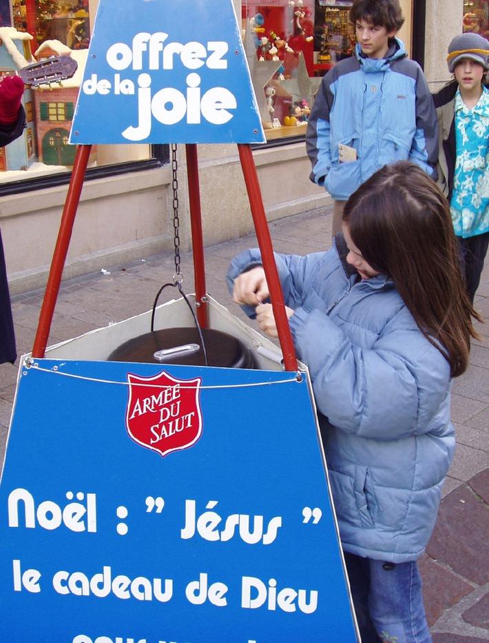 L'Armée du Salut lance sa campagne de Noël: Soupe, solidarité et stabilité