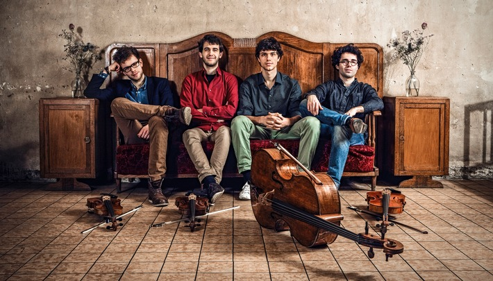 Vision String Quartet in Edenkoben live erleben