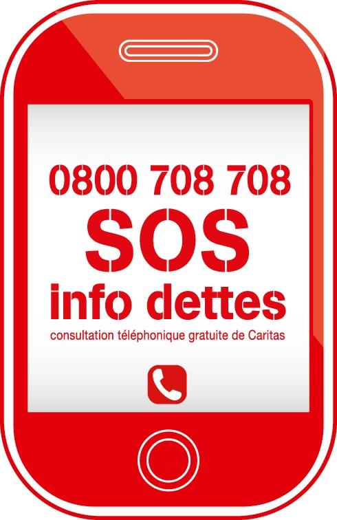 SOS Info dettes: la hotline gratuite de Caritas - Caritas propose désormais un conseil téléphonique en cas d'endettement au numéro 0800 708 708