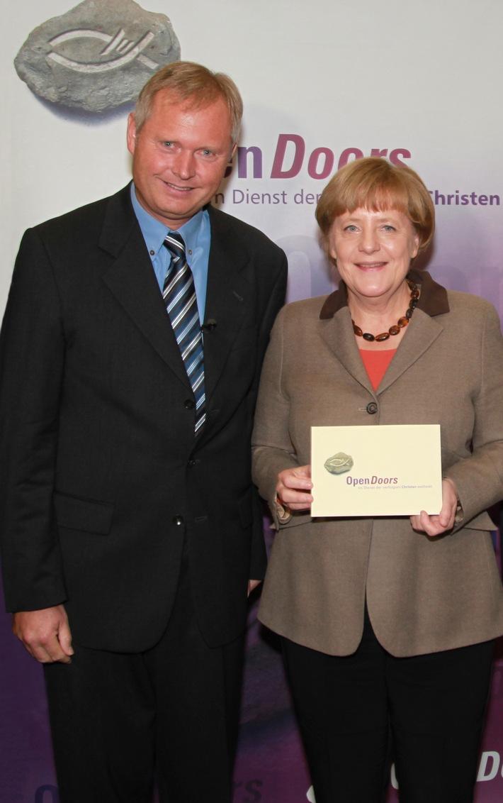 Bundeskanzlerin Merkel Im Gespr Ch Mit Open Doors