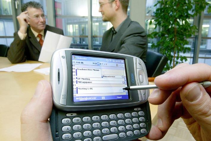 """Schlund + Partner """"pusht"""" Exchange aufs Handy"""