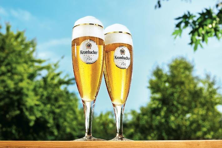 """Beste Produktqualität - Platz 1 und Prädikat """"Gold"""" für Krombacher"""