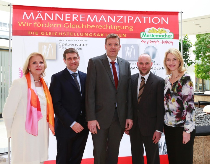 """Mestemacher: Einladung zur Pressekonferenz / 10. Verleihung """"Mestemacher Preis Spitzenvater des Jahres"""""""