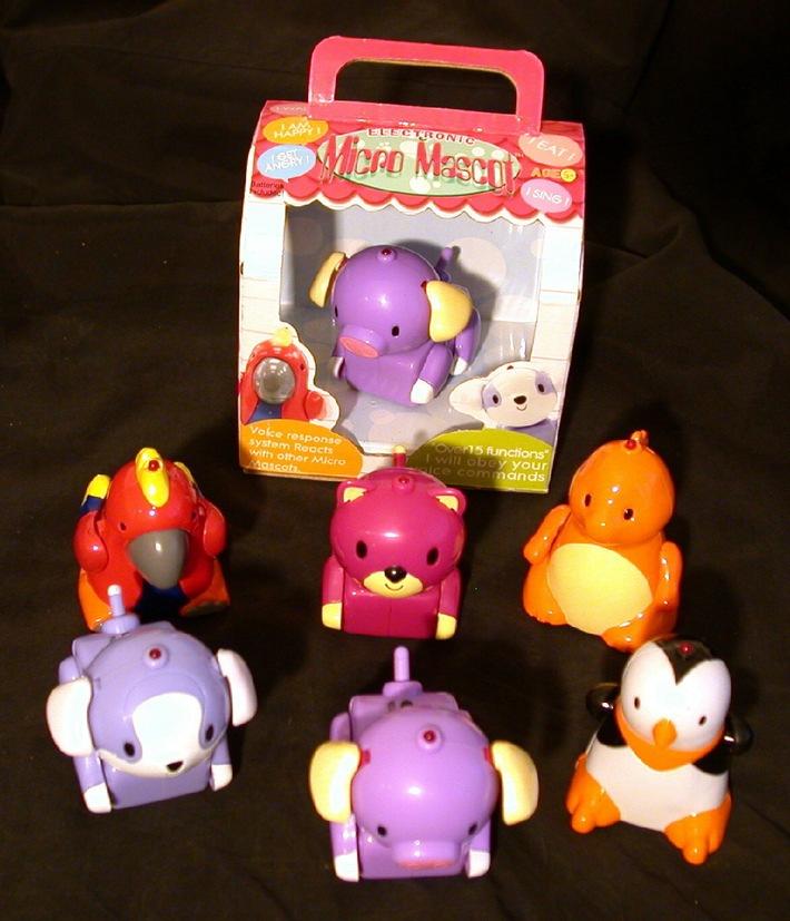 Weltneuheit - Little Pals & Micro Mascots -Die kleinen interaktiven Kameraden für gross und klein sind da!
