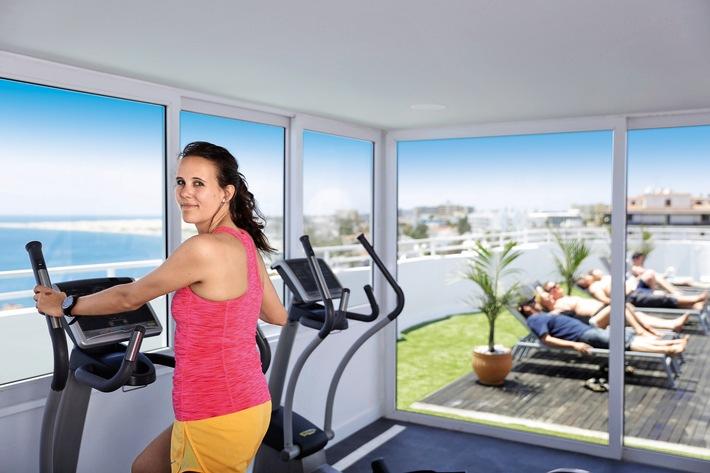 allsun Hotel Lucana auf Gran Canaria jetzt noch moderner mit mehr Fitness, Wellness und in Style / alltours Gruppe investiert weiter in den Qualitätsausbau seiner Hotels