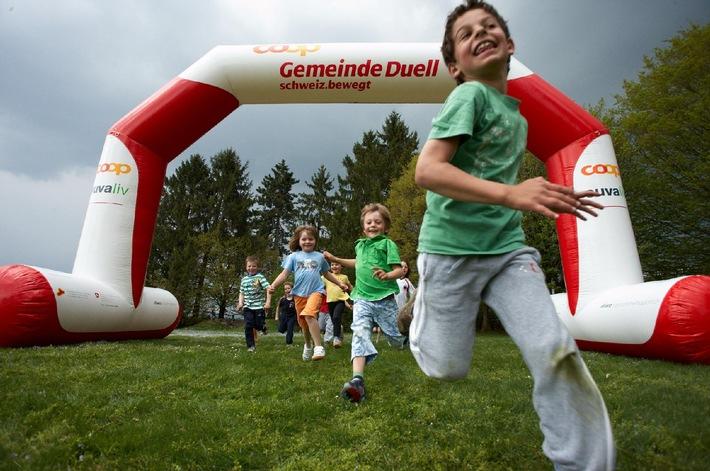 Semaine sportive nationale «La Suisse bouge»: des joutes passionnantes et un partenaire de premier plan pour le «duel intercommunal Coop»